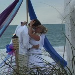 Anna Maria Island Green Wedding