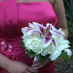 bridesmaid bouquet dress Selby Garden Video By Leslie