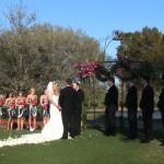 Wedding Ceremony University Park Country Club in Sarasota, FL