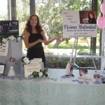 Creekside Bridal Show Booth 2010